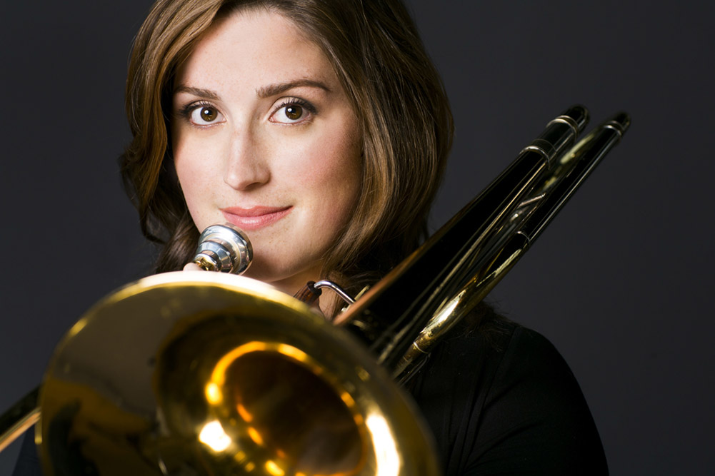 Rachel Castellanos,Trombone, New Chicago Brass Orchestra